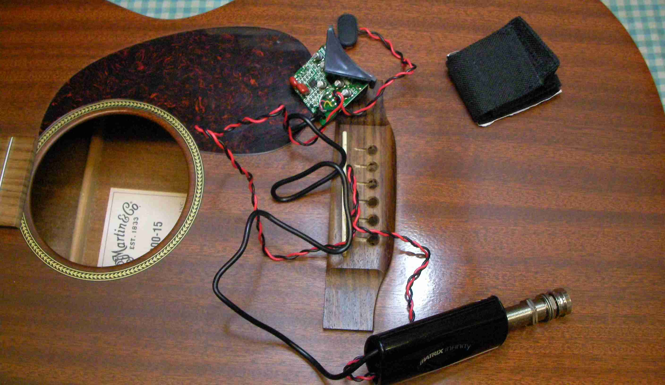 Martin Acoustic Electric Conversion